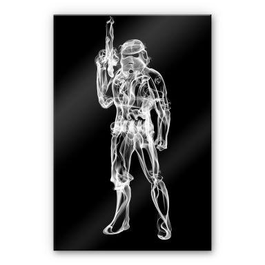 Acrylglasbild Mielu - Stormtrooper