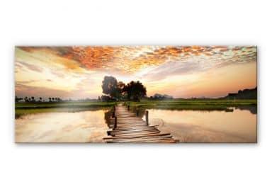 Acrylglas Naar de Overkant Panorama