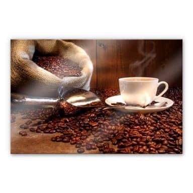 The Joy of Coffee - Acrylic glass