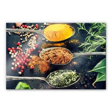Acrylic glass Herbs\' Variety 02