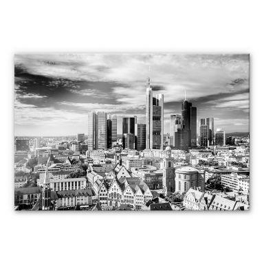 Tableau sur verre acrylique Skyline de Francfort