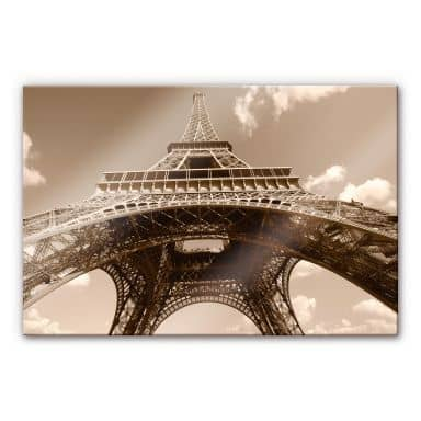 Acrylic glass Eiffel Tower Perspective