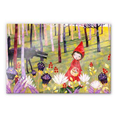 Acrylglasbild Blanz - Rotkäppchen