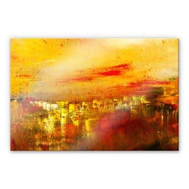 Acrylglasbild Niksic - Die Stadtstille
