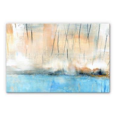 Acrylglasbild Niksic - Wasserblau