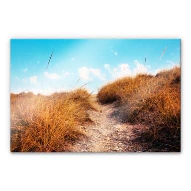 XXL Wandbild Strandaufgang