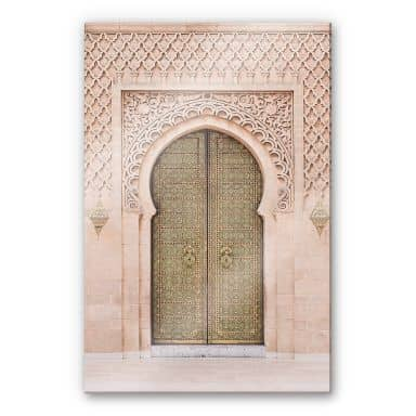 Acrylglasbild Sisi & Seb - Moroccan Door