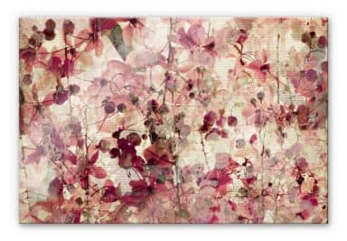 Vintage Floral Design XXL Wall picture