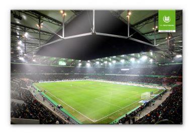 XXL Wandbild VfL Wolfsburg Volkswagen Arena