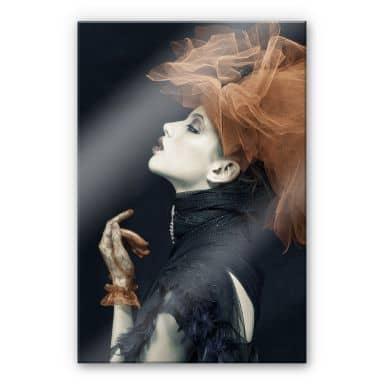 Acrylglasbild Yogasara - Imperious Lady