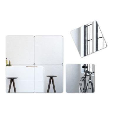Wandspiegel Quadrate Spiegel-Set