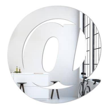 20-teilig Acrylglas Wandspiegel Spiegel Sternenset
