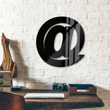 Scritta in acrilico –  Chiocciola