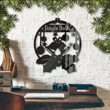 Acryldeko Jingle Bells