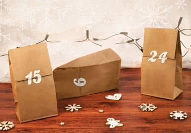 Adventskalender Set - Zahlen 01
