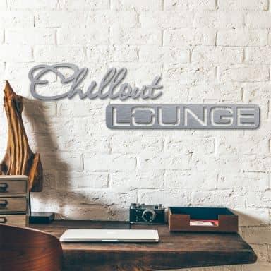 Lettere in Alu-Dibond - Chillout Lounge