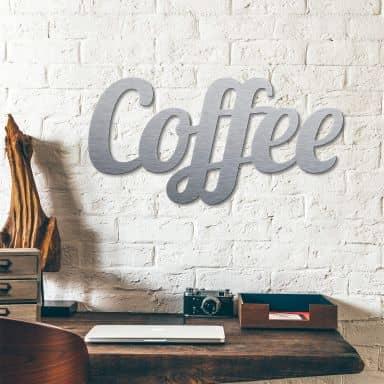 Scritta Alu-Dibond – Coffee