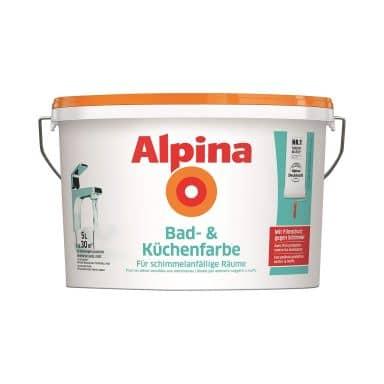 Alpina Bad- og køkkenmaling - 5 liter