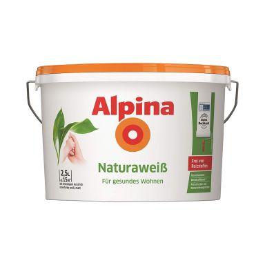 Alpina Naturhvid vægmaling - 2,5 liter