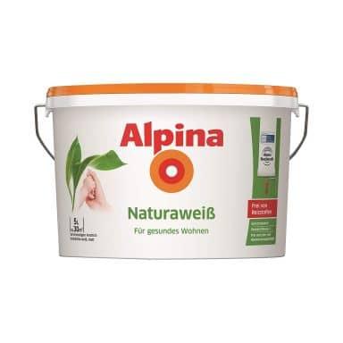 Alpina Naturaweiß Wandfarbe - 5 Liter