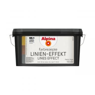 Alpina Farbrezepte LINIEN-EFFEKT - 4,5 Liter