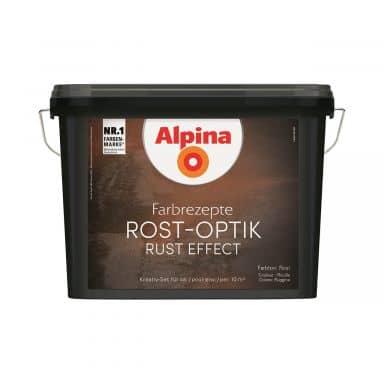 Alpina Farbrezepte ROST-OPTIK Set - 1,2 Liter