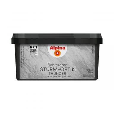 Alpina Farbrezepte STURM-OPTIK Silber - 1 Liter