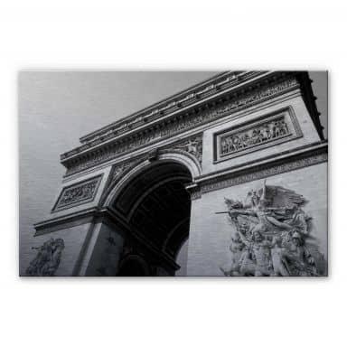 Alu-Dibond Bild Arc de Triomphe