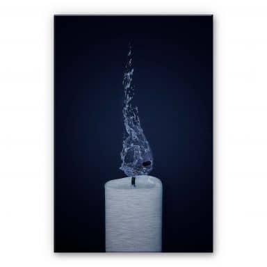 Extinct – Aluminium Print