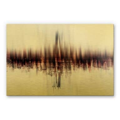Alu-Dibond-Goldeffekt - Chiriaco - My Vision