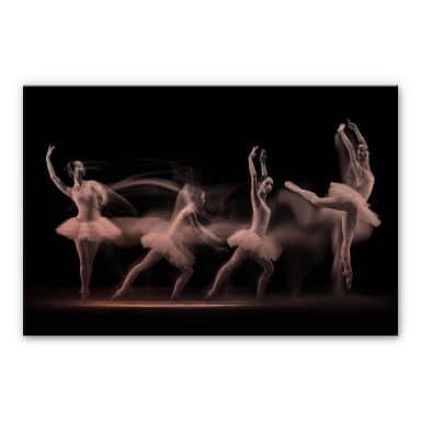 Alu-Dibond-Kupfereffekt - Bunjamin - Ballett-Performance