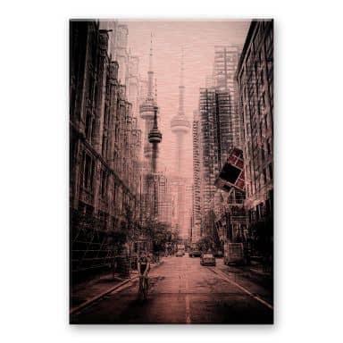 Alu-Dibond mit Kupfereffekt Chiriaco - Straßen in Toronto