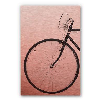 Alu-Dibond mit Kupfereffekt Sisi & Seb - Das Fahrrad