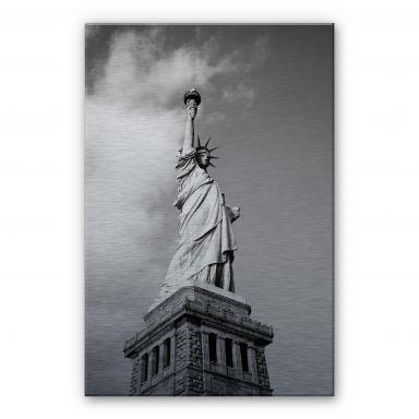 Alu-Dibond Bild Lady Liberty