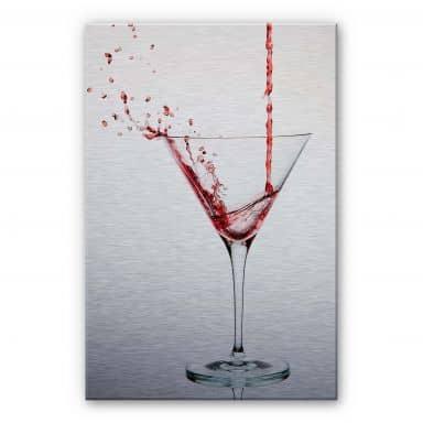 Alu-Dibond Bild Pabst - Cocktail