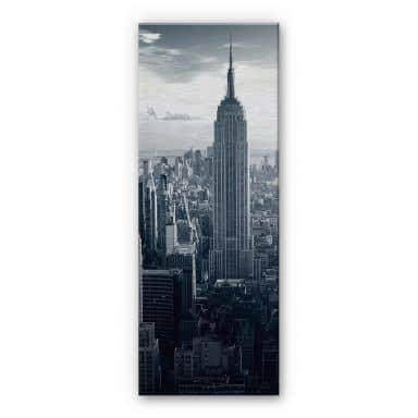 Aluminium Dibond Empire State Building Panorama