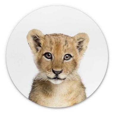 Wandcirkel Sisi & Seb - Baby Lion