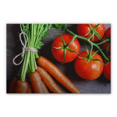Alu-Dibond Bild Fresh Cooking