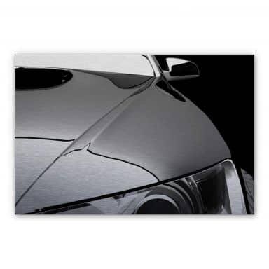 Metallic Car Aluminium print