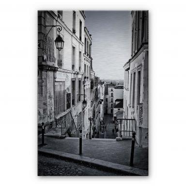 Alu-Dibond Bild Montmartre