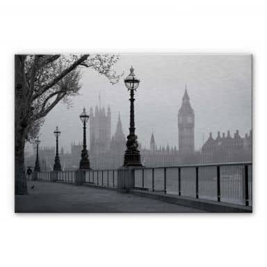 Tableau en alu-Dibond Palais de Westminster