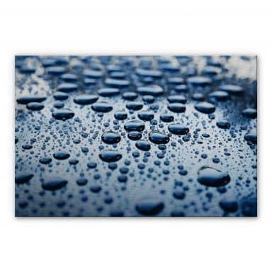 Alu-Dibond Bild Waterdrops