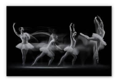 Alu-Dibond Bild Bunjamin - Ballett-Performance