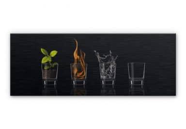 Alu-Dibond Bild Frutos Vargas - The Four Elements