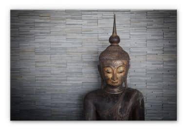 Thai Buddha Aluminium print