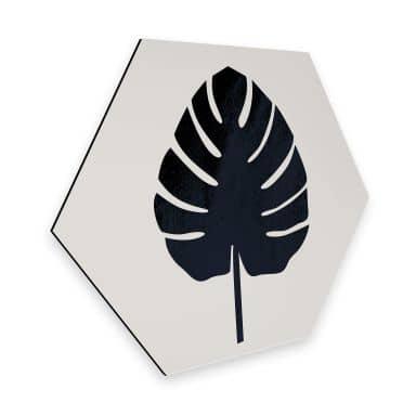 Hexagon - Alu-Dibond Kubistika - Botanica Abstracta