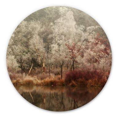Wandcirkel van Dongen - Frosted Forest