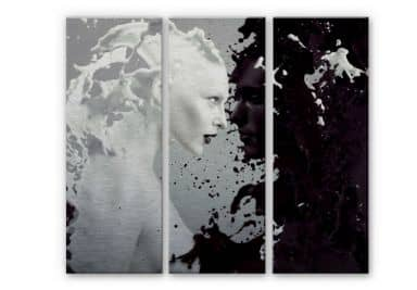 Milk & Coffee Aluminium Print (3-piece)