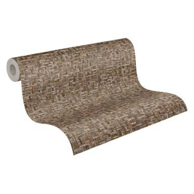Architects Paper Jungle Chic - Papier peints effet bois, brun