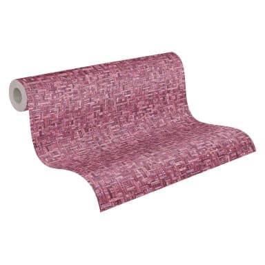 Architects Paper Jungle Chic - Papier peints effet bois, rosé